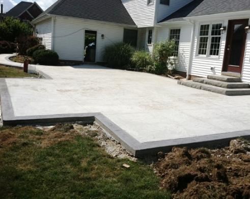 High Quality Concrete Patio Estimate Bid