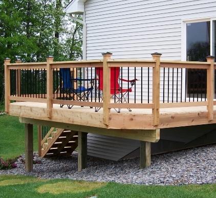 Deck And Deck Repair Estimate Stuart Lawn And Land
