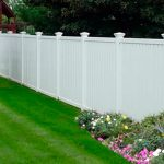 New Vinyl Fence and Fence Repair